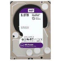 Жесткий диск Western Digital Purple 6TB 64MB WD60PURX