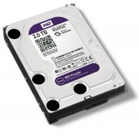 Жесткий диск Western Digital Purple 2TB 64MB WD20PURX