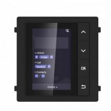 Модуль з монітором відеодомофона Hikvision DS-KD-DIS