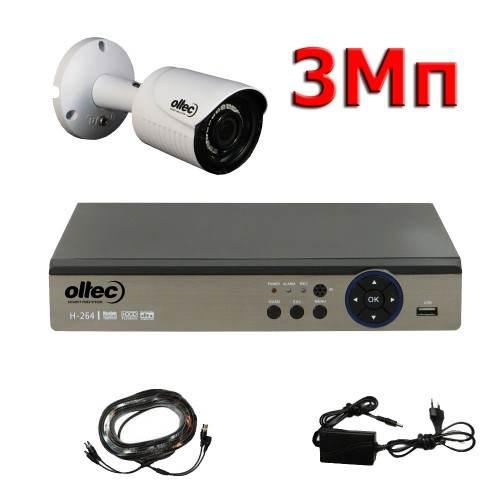 Комплект видеонаблюдения Oltec AHD-ONE-3Mp